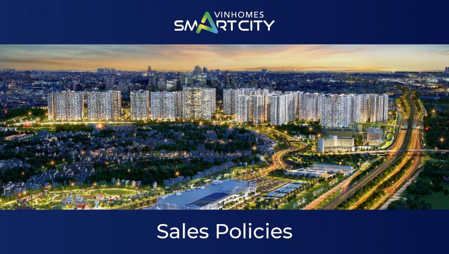 Sales policy of Vinhomes Smart City in March 2021